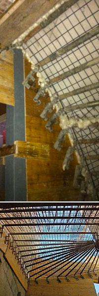 B timent coffrage escalier tournant coul sur place for Beton coule en place