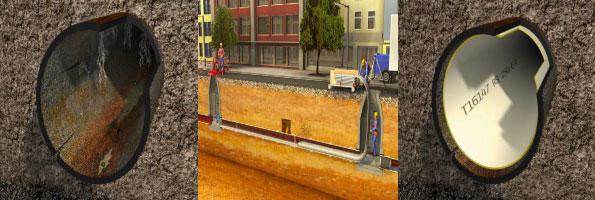 Chemisage canalisation